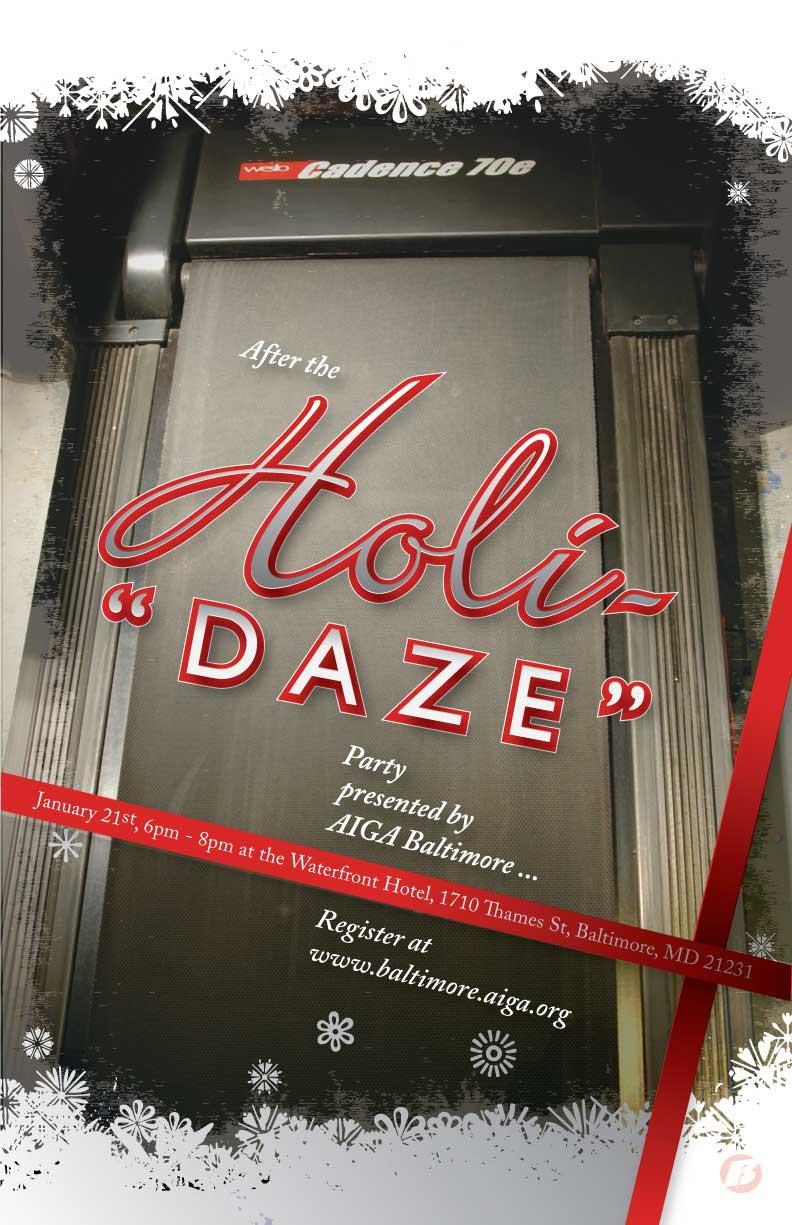 """Holi-""""DAZE"""" Invitation"""