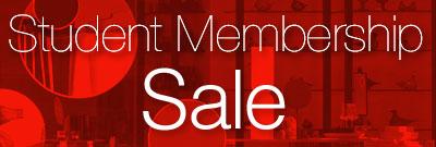 Student Membership Sale